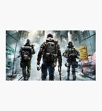 The Division Photographic Print