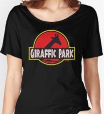 Giraffic Park Women's Relaxed Fit T-Shirt