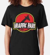 Giraffic Park Slim Fit T-Shirt