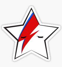 BOWIE STARFACE Sticker