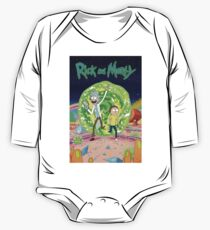Rick and Morty One Piece - Long Sleeve