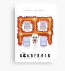 Bomberman Walk Away Canvas Print