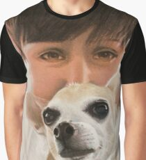 Max the adorable Chihuahua Graphic T-Shirt