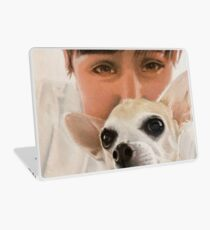 Max the adorable Chihuahua Laptop Skin