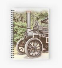 Burrell Steam Traction Engine Spiral Notebook