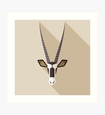 Oryx Art Print