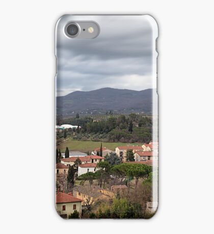 Arezzo From Above iPhone Case/Skin