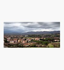 Arezzo From Above Photographic Print