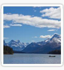 Mountains of Maligne Lake 1 Sticker