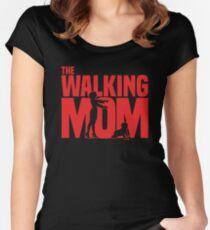 The walking Mom Women's Fitted Scoop T-Shirt