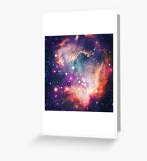 The Universe under the Microscope (Magellanic Cloud) Greeting Card
