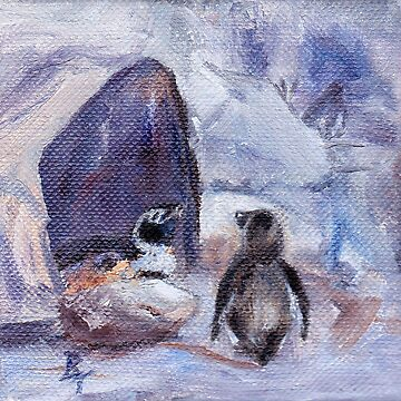 Nesting Penguins by bmthour