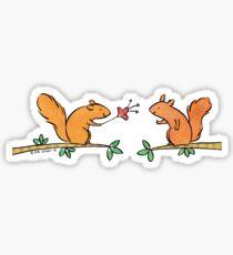 Tickle Tickle Little Squirrel Sticker