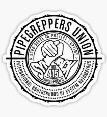 International Brotherhood of System Automators (large logo) Sticker