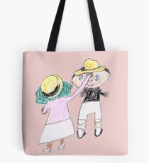 Your hat is crooked!! let me fix that. :D - ABC '14 Tote Bag