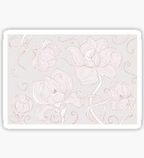 Gentle Magnolias Sticker
