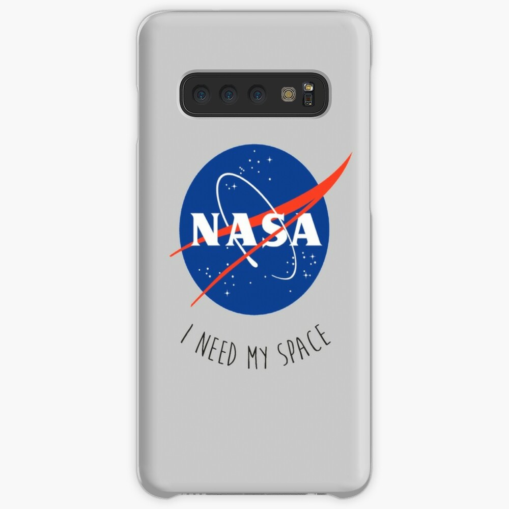 I Need My Space Colour Case & Skin for Samsung Galaxy