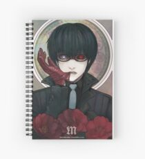 Black Reaper Spiral Notebook