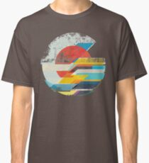Digitaler Sonnenhorizont Classic T-Shirt