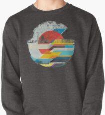 Digitaler Sonnenhorizont Sweatshirt