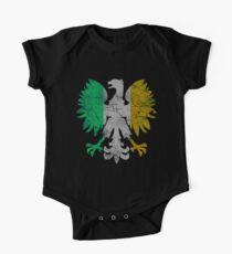 Vintage Flag of Ireland Polish Eagle Kids Clothes