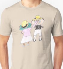 Your hat is crooked!! let me fix that. :D - ABC '14 Unisex T-Shirt