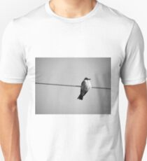 Bird on Wire Unisex T-Shirt