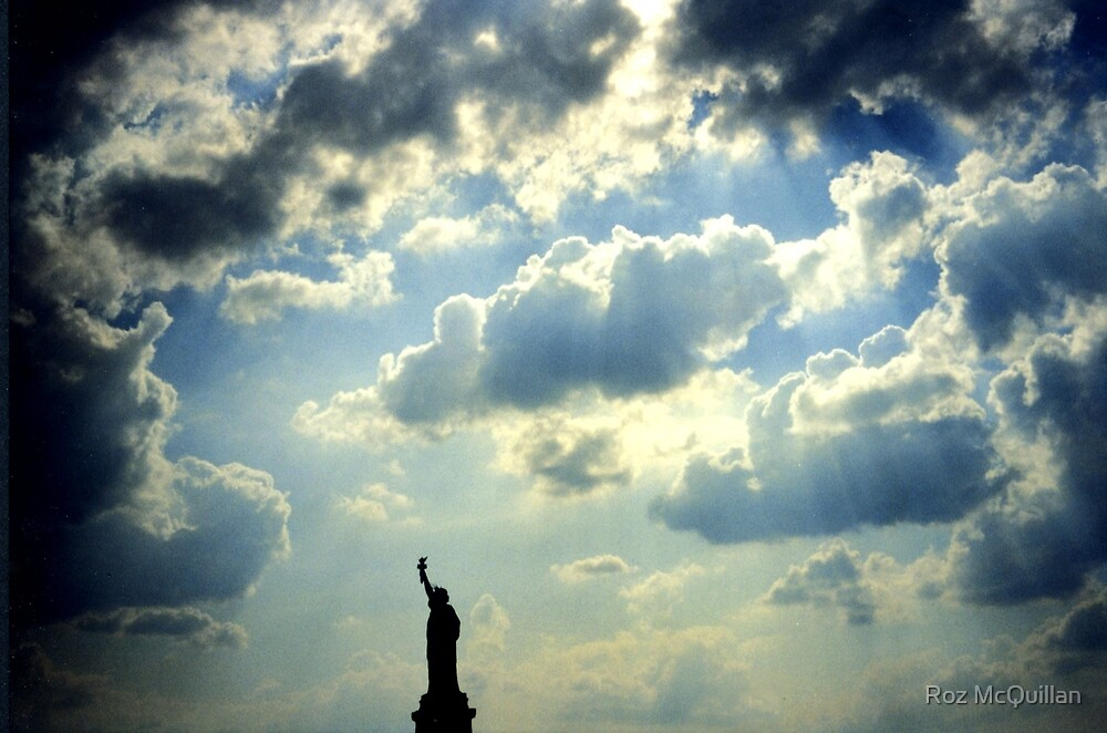 Statue of Liberty, New York by Roz McQuillan
