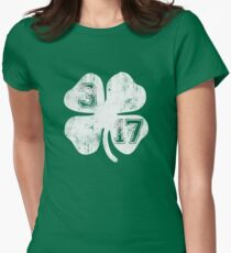 St Patricks Day 3/17 Shamrock Vintage Fade T-Shirt