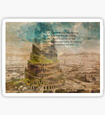 The Tower of Babel Sticker