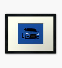 Simple Evo Framed Print