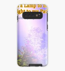 Your word is a lamp to my feet Case/Skin for Samsung Galaxy