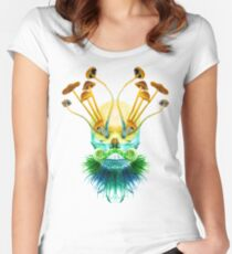 Psychedelic Shaman Women's Fitted Scoop T-Shirt