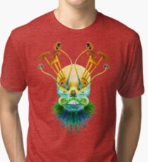 Psychedelic Shaman Tri-blend T-Shirt