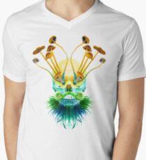 Psychedelic Shaman Men's V-Neck T-Shirt
