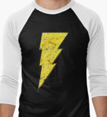 Black Adam - DC Spray Paint Men's Baseball ¾ T-Shirt