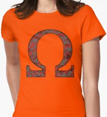 Darkseid - DC Spray Paint Womens Fitted T-Shirt