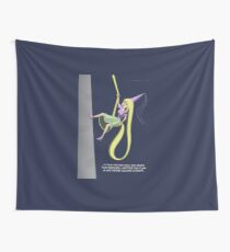 Rapunzel Abseil Escape Attempt Wall Tapestry