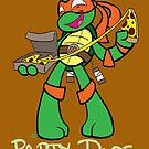Teenage Mutant Ninja Turtles- Michaelangelo by LillyKitten