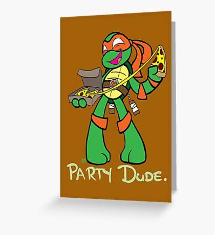 Teenage Mutant Ninja Turtles- Michaelangelo Greeting Card