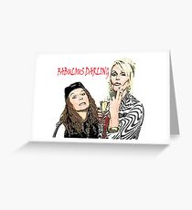 Absolutely Fabulous Greeting Card