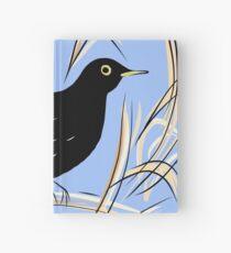 Male Blackbird Hardcover Journal