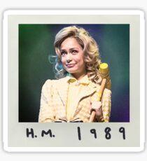 hm 1989 Sticker
