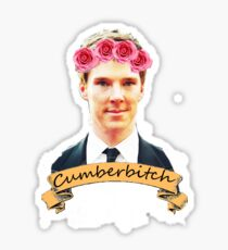 Cumberbitch shirt Sticker