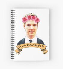 Cumberbitch shirt Spiral Notebook