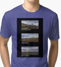 3 Highest Peaks Of The Yorkshire Dales Tri-blend T-Shirt