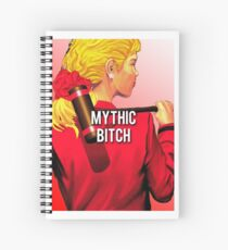 mythic bitch Spiral Notebook