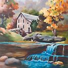 Glade Creek Mill by Brenda Thour