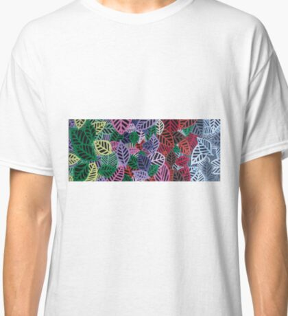 Four Seasons - Artwork In Acrylics On Canvass  Classic T-Shirt