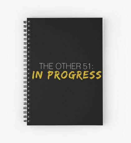 Work In Progress Spiral Notebook